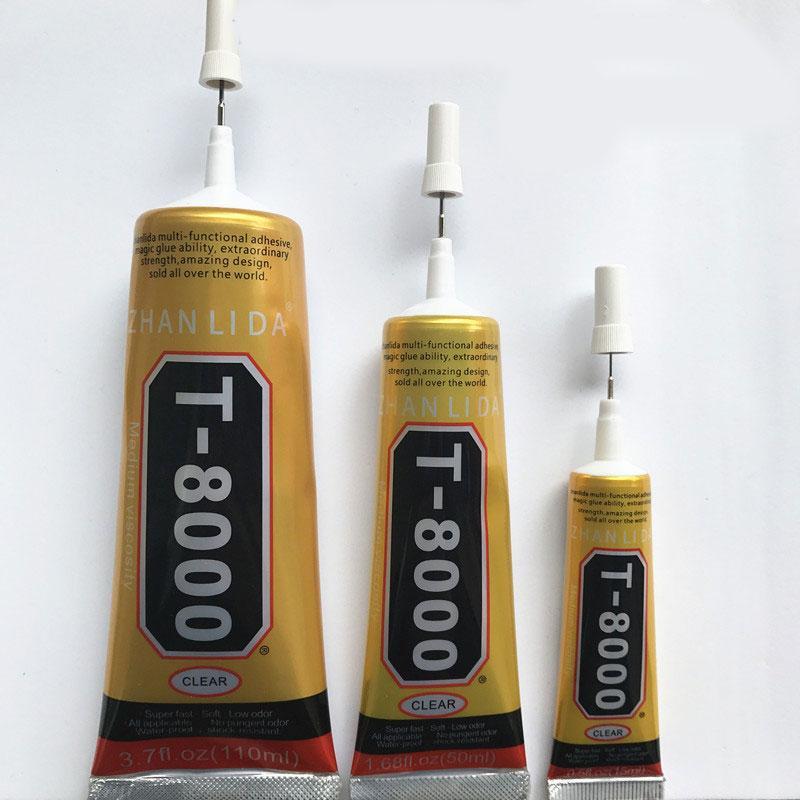 50ML T-8000 T8000 E8000 B7000 T7000 MultiPurpose Industrial Adhesive Jewerly Craft Rhinestone Nail Gel Diy Phone Frame Fix Screen Glass Glue