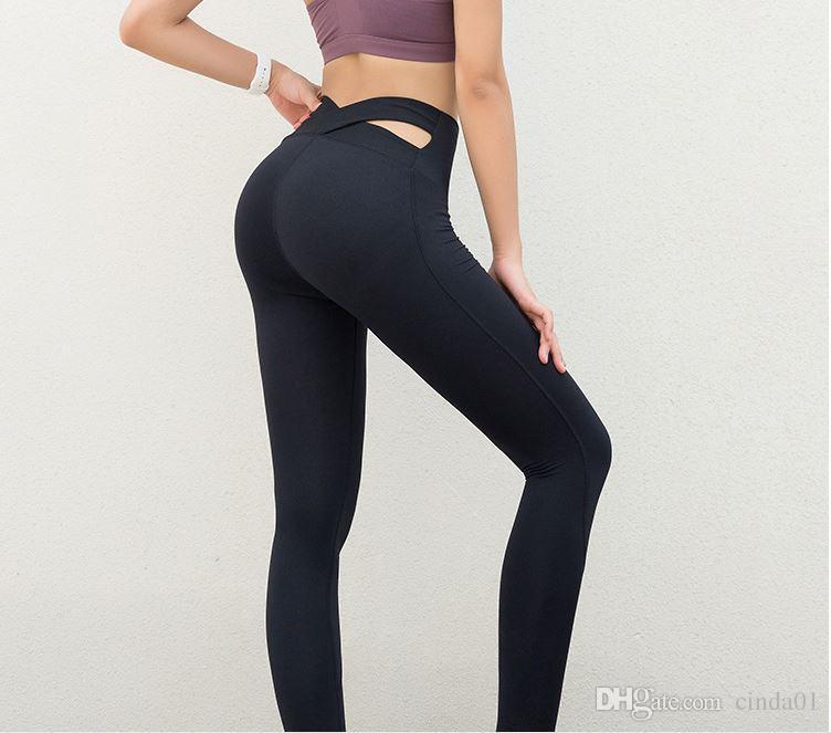 2019 Novo Estilo Das Mulheres Cintura Alta Leggings Designer Sportwear Sexy Fina Skinny Basculador Jegging Calças Elásticas Pancil