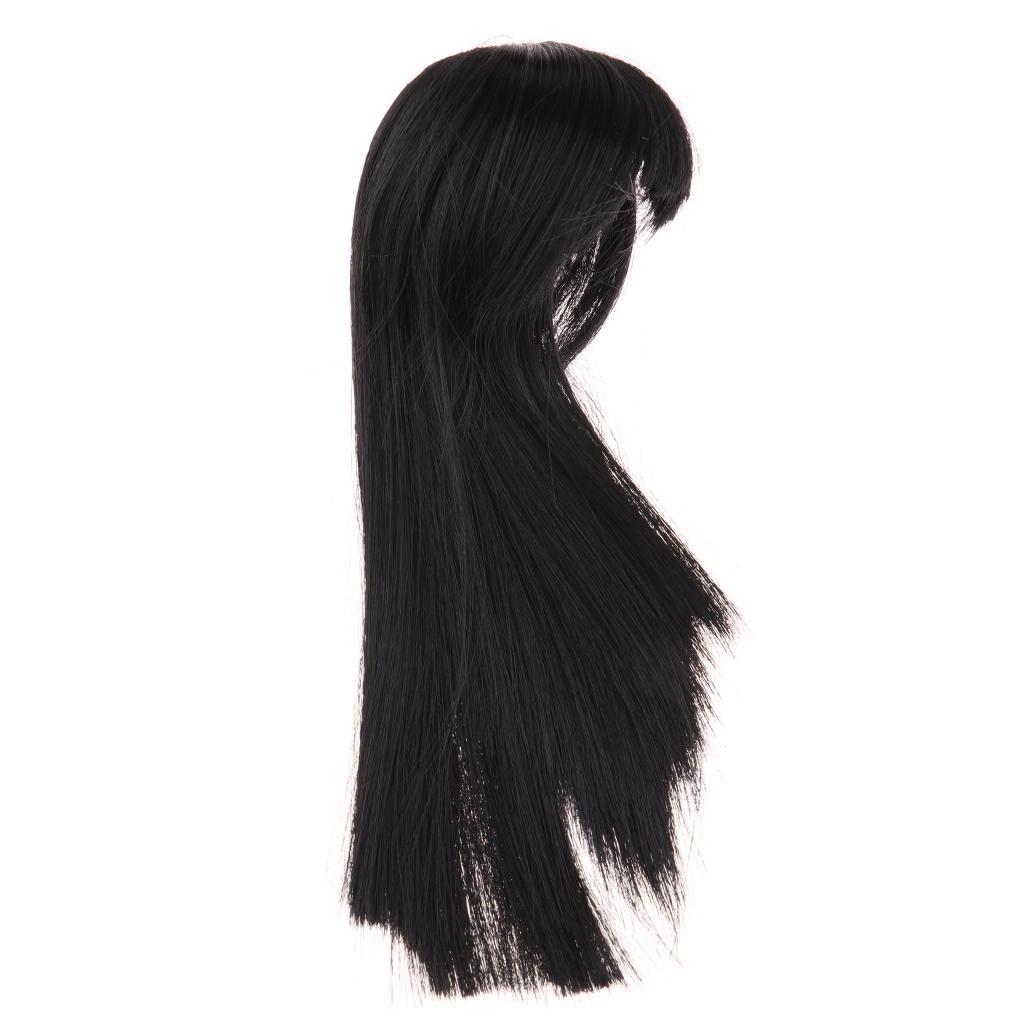Haar Perücke Mittelscheitel-Haar-Zusätze für BJD MSD DOD Dollfie Puppe nicht für den menschlichen