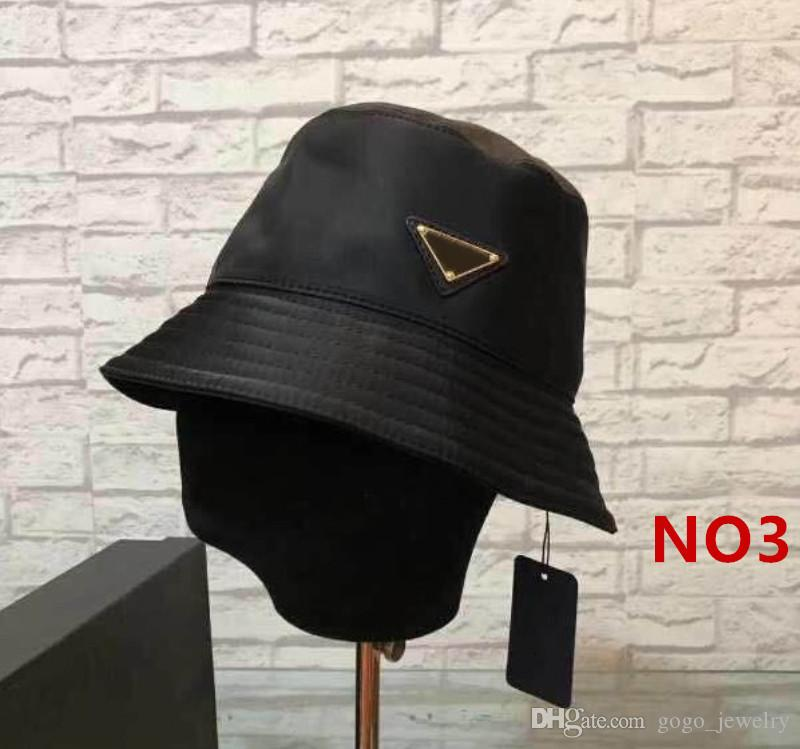 Bucket Hat Cap Moda Stingy Brim Chapéus respirável Casual Equipados Chapéus 9 modelos altamente Qualidade