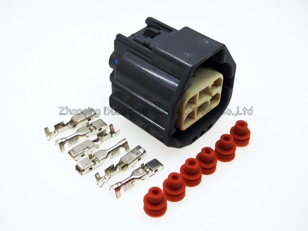 spina a 6 pin / Way FCI connettore elettrico, auto femminile della valvola a farfalla valvola per auto, VW, Toyota ecc