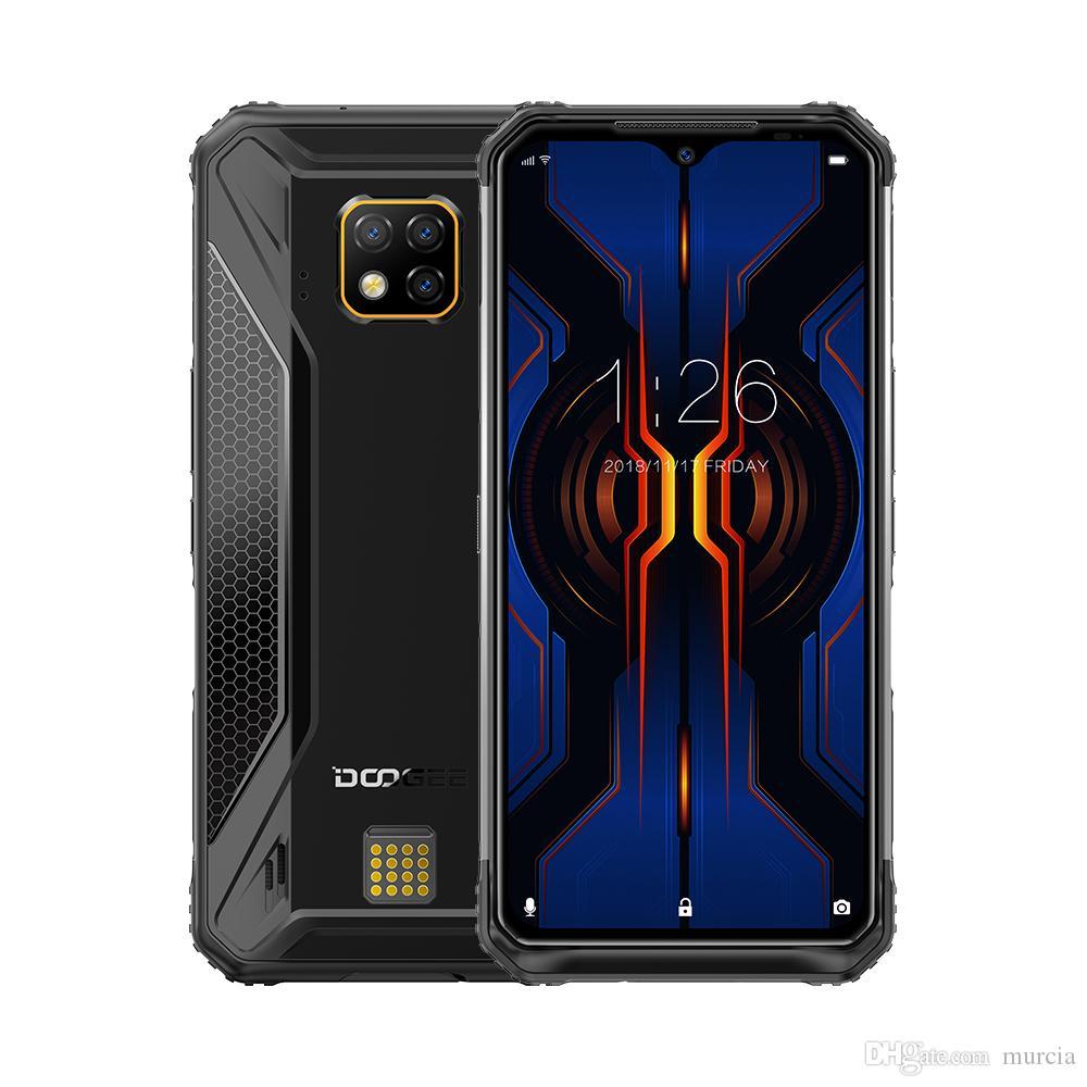 "New Doogee S95 pro Helio P90 Rugged Smartphone 6.3"" IP68/IP69K 48MP Triple camera 8GB 128GB NFC Face unlock 4G Mobile Phone"
