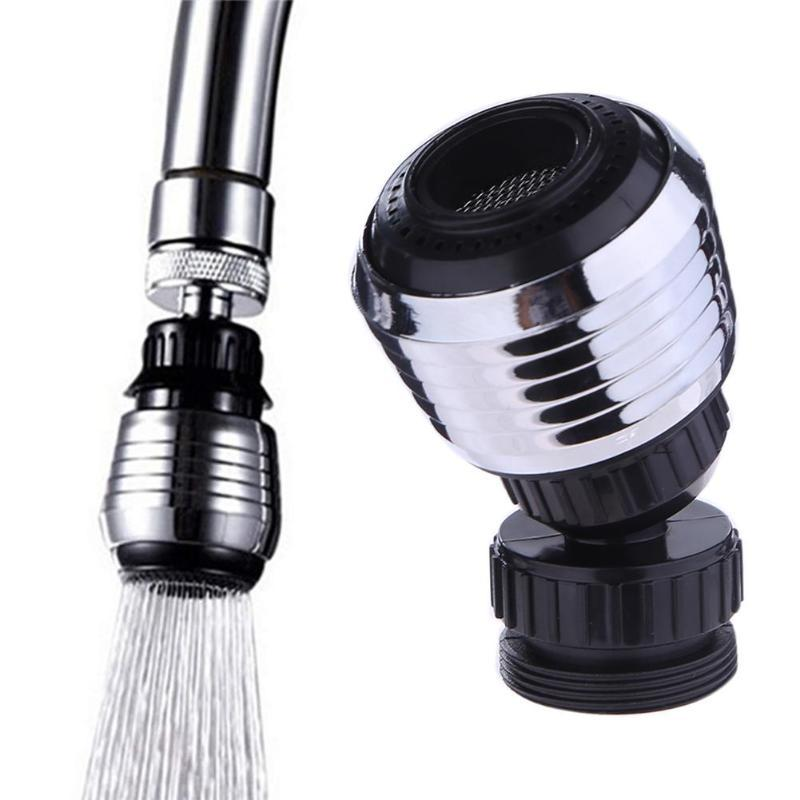 ome Improvement 1PCS Durable Kitchen Universal Plastic Filter Faucet 360° Rotary Faucet Nozzle Kitchen Anti-splash Water Tap Filter Water...