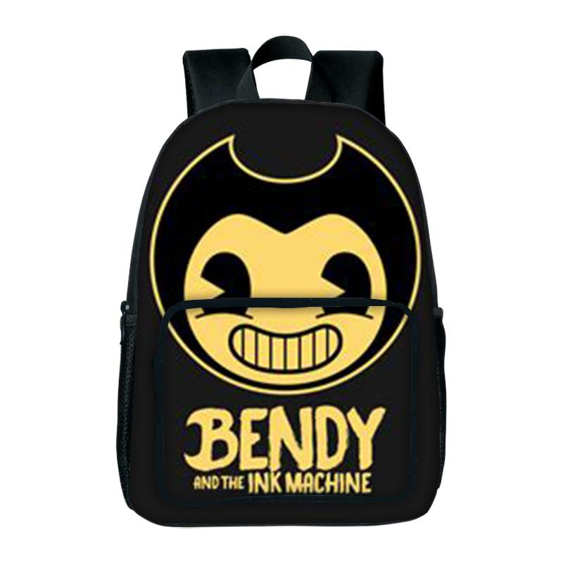 New Fashion Bendy And The Ink Machine School Bag Children Backpack For Student School Bag Notebook Backpack Daily Backpacks Gift