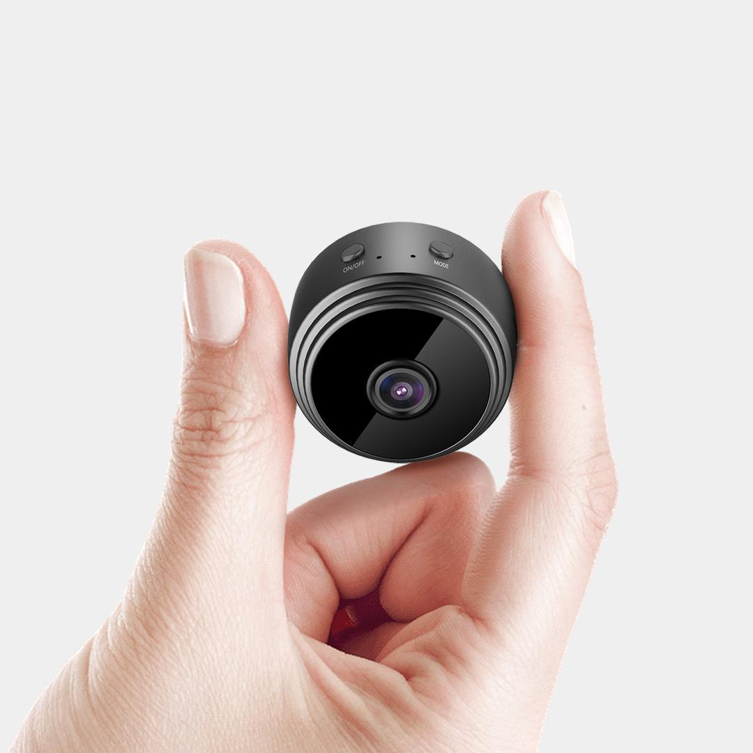V380 Pro Anyka monitoramento remoto APP Alarm Empurre IR Night Vision Sem brilho Câmeras HD A9 Wifi AP hotspot Spy escondido Segurança Camera Mini DV