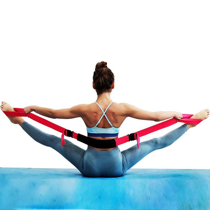Yoga Flexibility Stretching Leg Stretcher Strap for Ballet Cheer Dance Gymnastic