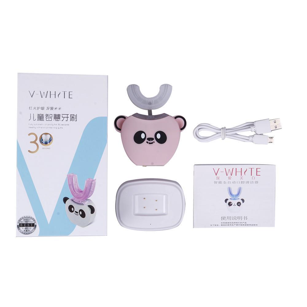 جديد سونيك بالموجات فوق الصوتية الأطفال فرشاة الأسنان الكهربائية اللاسلكية 360 درجة الأسنان الفم الأسنان التلقائي أدوات العناية الشخصية