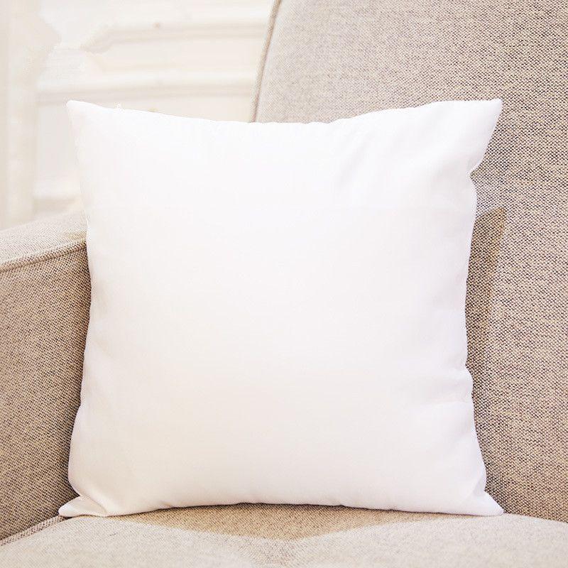 Transferência de sublimação Pillowcase Calor Printing Fronhas em branco 40x40cm almofada travesseiro sem fronhas inserção de poliéster