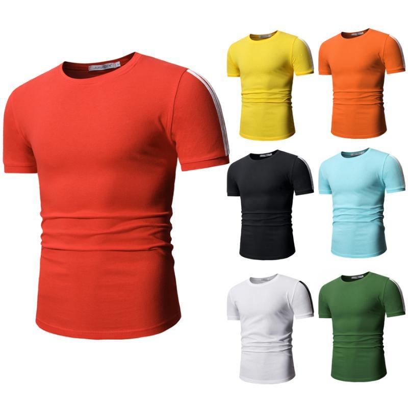 Men Summer Fashion Camisa Shirts High Quality Short Sleeve Mens Shirt Brands Breathable Brand Tee Tops MTS13