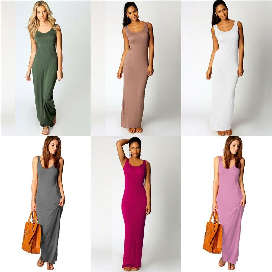 2020 Hot Summer Sale 7 couleurs Femmes Mode Slim Robe d'impression en vrac Sling Casual Robe Plus Size S-5XL # 332