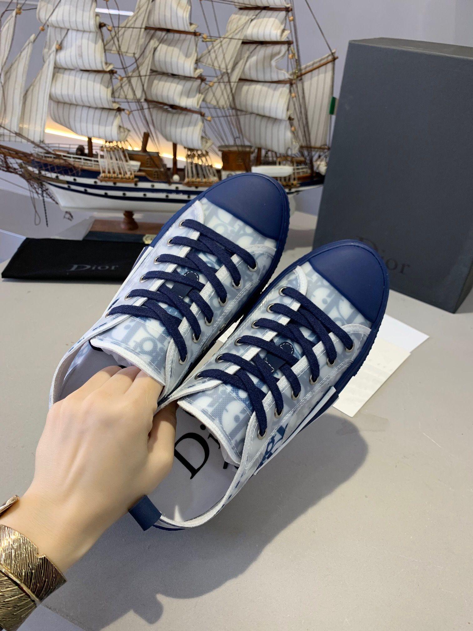 Díor Oblique Homme X KàWS By Kìm Jones Men Women Fashion Designres Triple S Luxury Casual Shoes High Top Sneakers Skateboard Shoes Boots A5