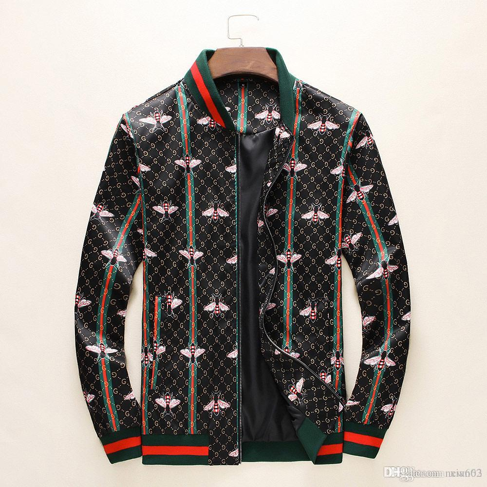 19 anni giacca casual sportswear fashion brand con cappuccio degli uomini autunno liberi di trasporto cerniera Slim italiano nuovo lusso della moda Jac maschile