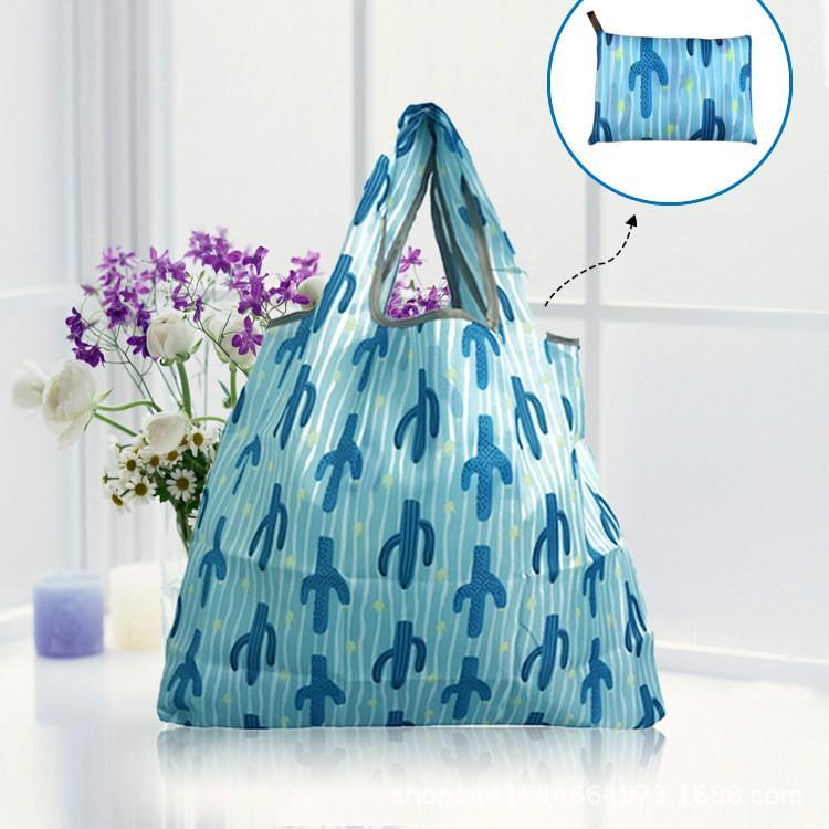 портативный окружающей среды мешок водонепроницаемый большой емкости супермаркет сумка для хранения покупок овощные сумки BG212