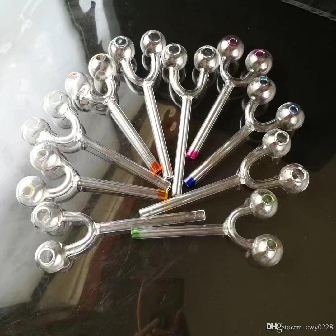 Queimador de bomba de paintball, acessórios de bongos de vidro por atacado, cachimbo de água de vidro, frete grátis