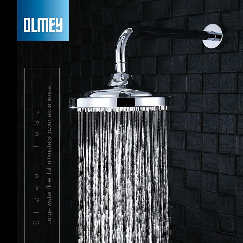 2020 OLMEY High Pressure Rain Shower Head Bathroom Rainfall Shower