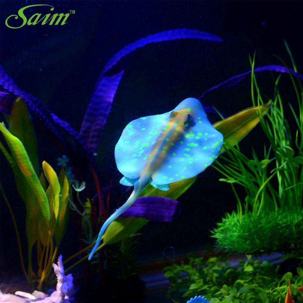 플랫 다채로운 인공 가짜 물고기 수족관 물고기 탱크 홈 인테리어 장식 액세서리 수족관 탱크 장식 용품