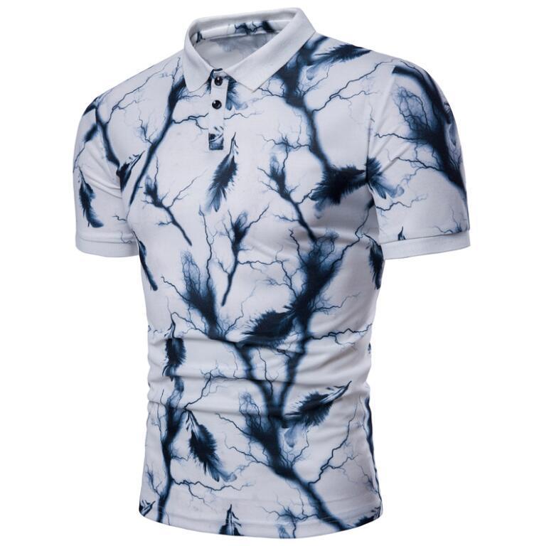 Sommer Designer Polos für Herren T-Shirts Art und Weise Marke Polo beiläufigen Männer Tops 2 Farben erhältlich