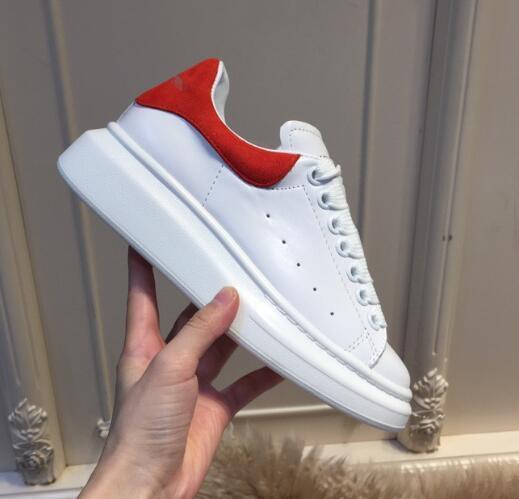 New Classic Donna Uomo Velvet pattini casuali Lace-up in pelle bianca di riciclaggio nero scarpe comode scarpe Mens piatto sportive