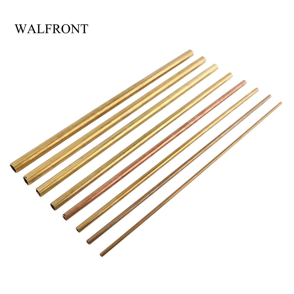 Round Brass Tube Copper Pipe OD 2 3 6//8mm For Pipeline Model Making Engineering