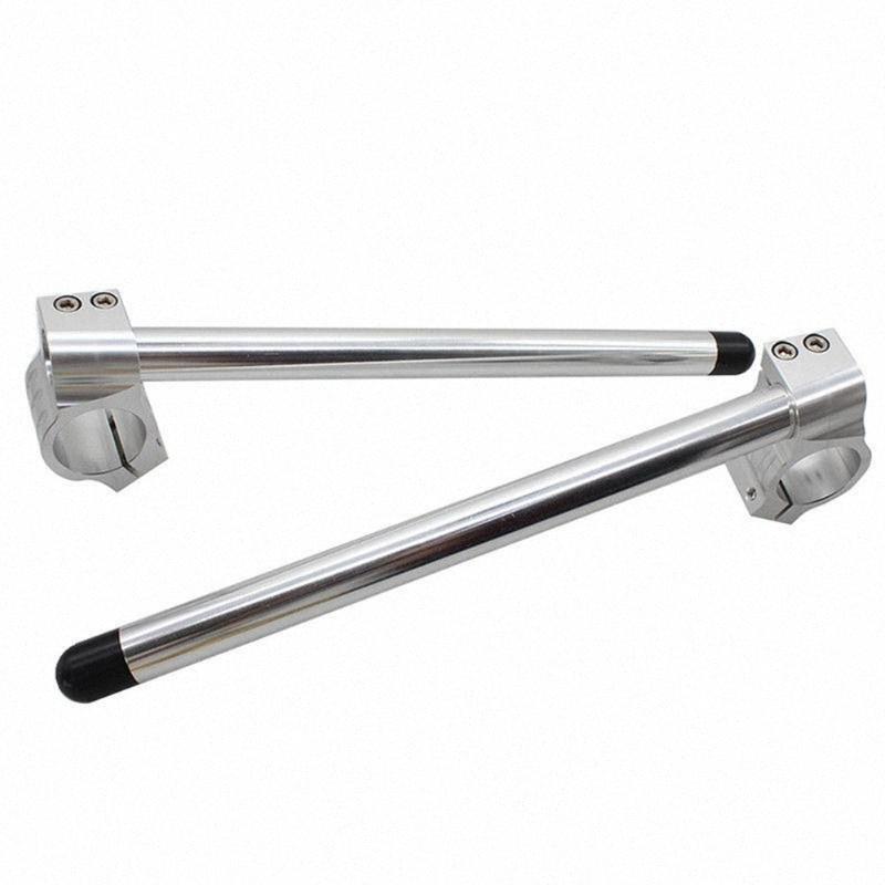 1 paio moto durevole clip-sull'impugnatura barre della maniglia 35mm Forcella portatile Accessori auto tubo universale Per Cafe Racer 4dN1 #