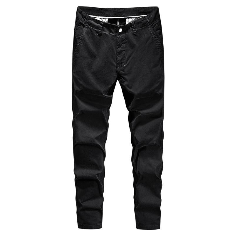 2020 Marken-Mann-beiläufige Hosen Herren Business Khaki-Hose Male Classics gerade volle Länge Mode Harajuku Street Hosen