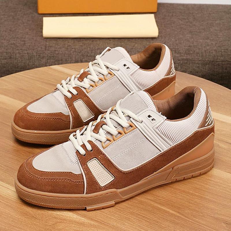 Тренер тапки Мужская обувь с Origin Box моды кроссовки дышащий осень и зима Комфортные Спорт Плюс Размер Повседневная Мужская обувь