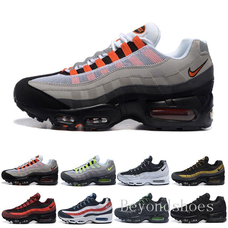 2019 Men Air OG Cushion Navy Sport High-Quality Chaussure Walking Boots Men running Shoes Cushion Sneakers Size 36-46 HU-9C