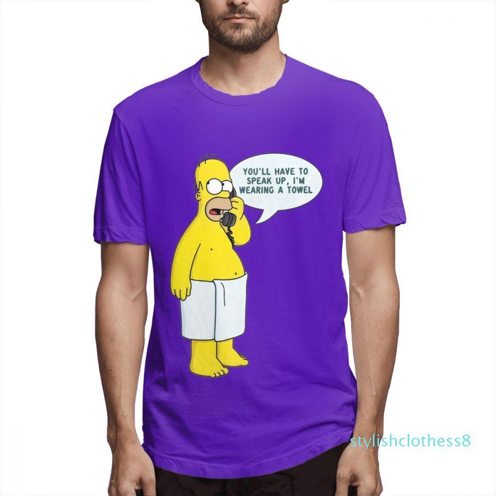 O designer Simpsons Moda camisas camisas das mulheres dos homens de mangas curtas shirt Os Simpsons Impresso camisetas Causal Mens Tops Hip Hop c5609s08