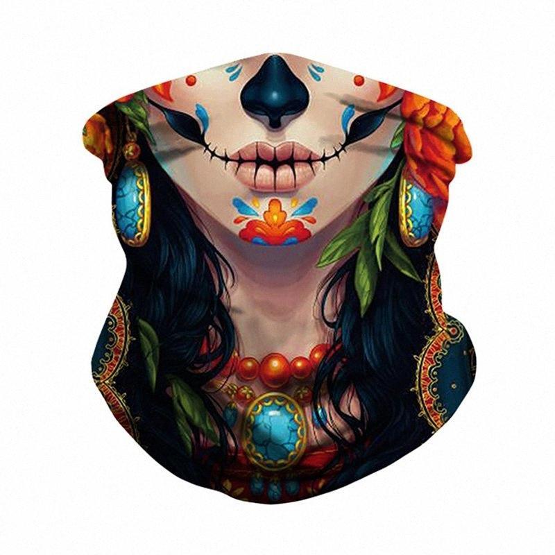 Бандана Женщины Мужчины Флаг Цифровой Печатный Многофункциональность Бесшовная Quick Dry Зонт Sweatband Hairband головной платок c1s0 #