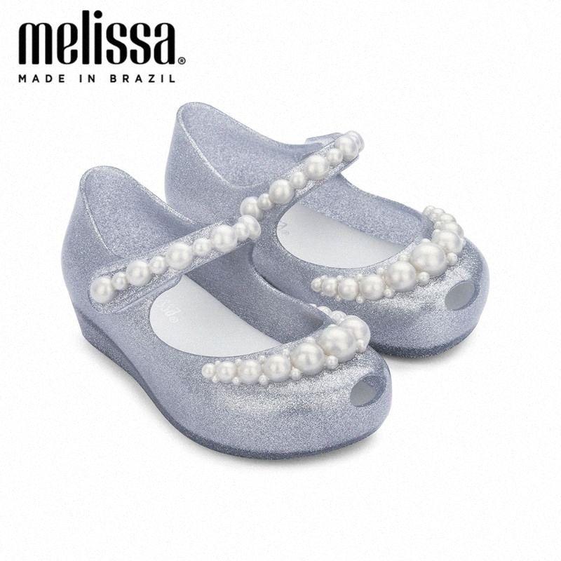 Mini Melissa Ultragirl Girly Girl Jelly Shoes Sandals 2020 Baby Shoes Melissa Sandals Kids Non Slip Slides Girls howY#