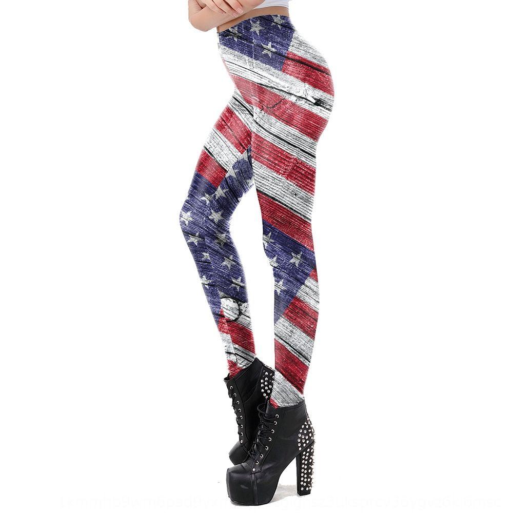 Best-selling American tight pants Flag tight pants flag 3D full-body printing women's sports hip-lifting leggings KDK2057