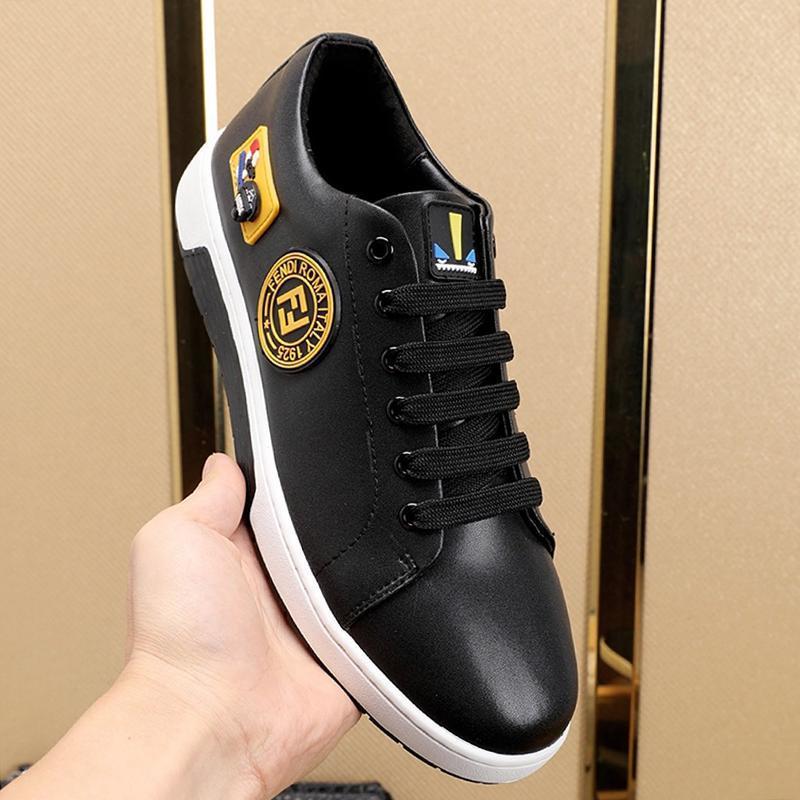 Alta dos homens da qualidade Sapatos Entrega rápida do desenhador de moda Leve Calçados casuais das sapatilhas confortáveis sapatos de luxo Kuitixm Low Top Esportes