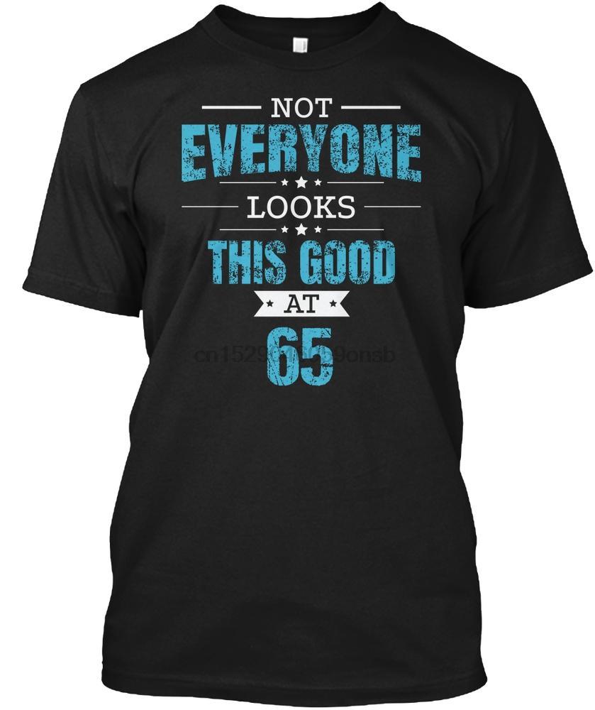 Men T Shirt 65th Birthday Gift Retro Sixty Five 65 Women tshirt