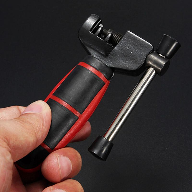 Cycle vélo vélo Chaîne Pin Remover Lien disjoncteur Splitter outil extracteur Kit classique de réparation de vélos outil Accessoires