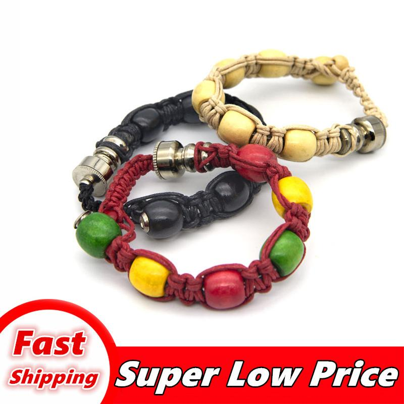 Bracelet stash tuyau de mode furtif tuyau clic n vape incognito pipe bracelet pour le tabac discret Sneak Toke fumer 001