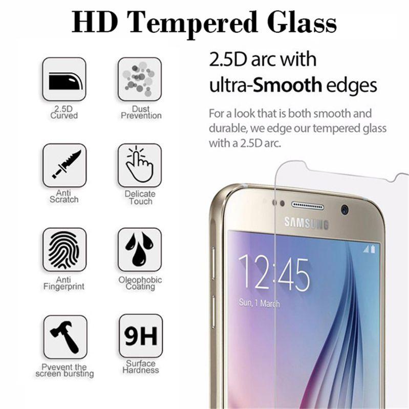 Ekran Koruyucu Stokta Kağıt Kutu Düz ekranlı Samsung M10 M20 M30 M40 Koruyucu Film 0.3mm için Samsung A70 A80 A90 Kırılmaz Camdan için