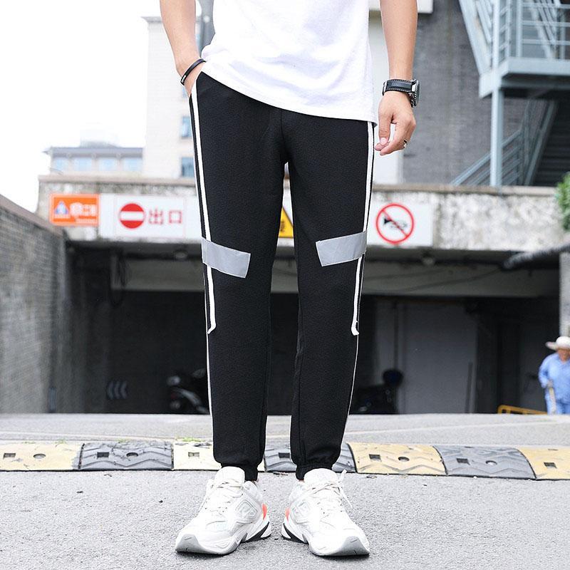 Pantalons pour hommes 2020 Nouvelle Arrivée Mode Hommes active Cadrage Pantalons Hommes Casual Pantalons sport respirant 3 couleurs Taille M-4XL