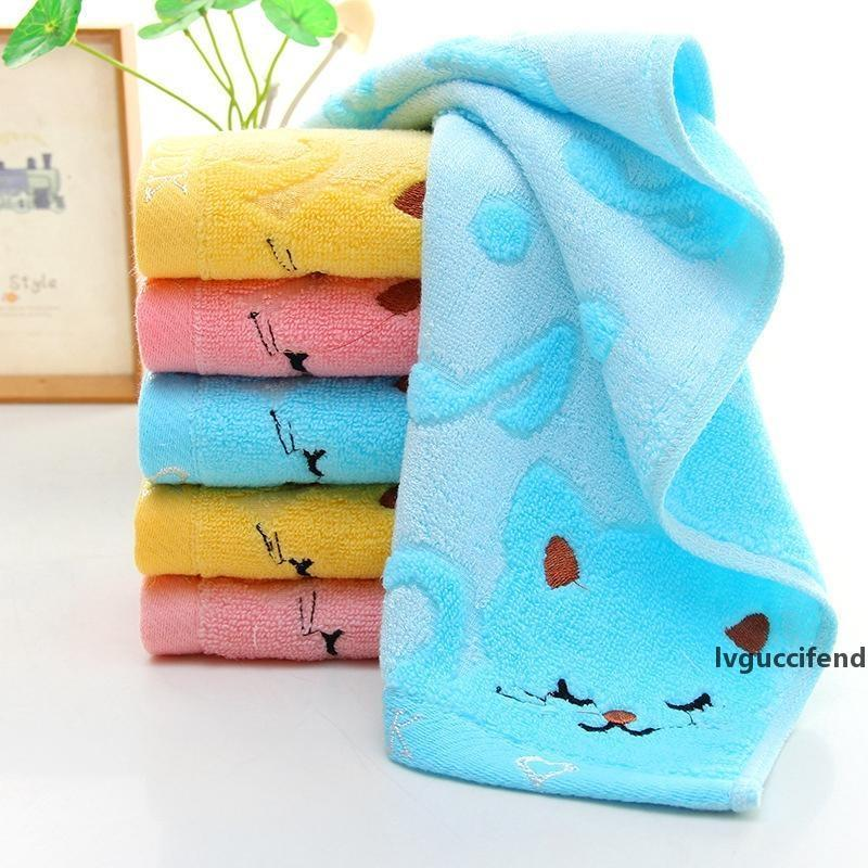 Best gift Cotton towel thickened children s hand towel full yarn bamboo fiber towel daily necessities wholesale
