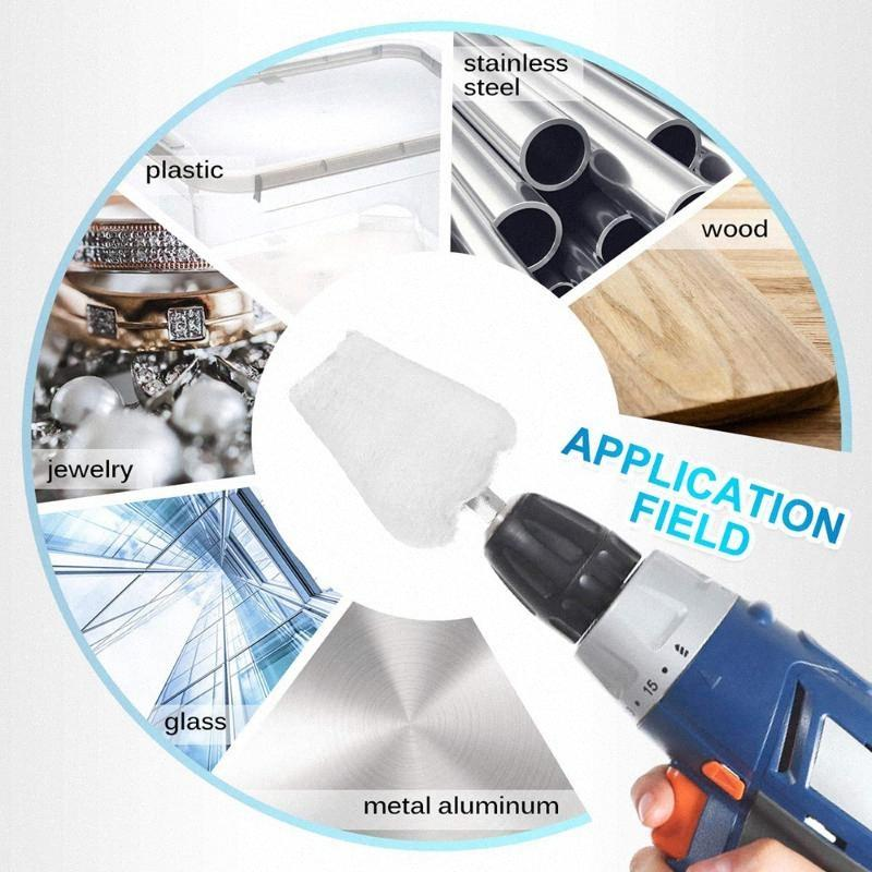 7Pcs Polishing Wheel Polishing Disc for Drill Attachment Rim Attachment Drill Buffing Pad WgOo#