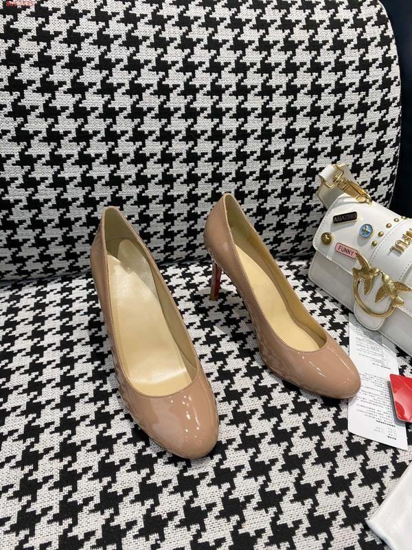 yuvarlak baş ve yüksek topuklu Bow tasarım dekorasyon ile kırmızı, siyah ve şampanya kişilik Kadınlar elbise ayakkabı dolu yeni