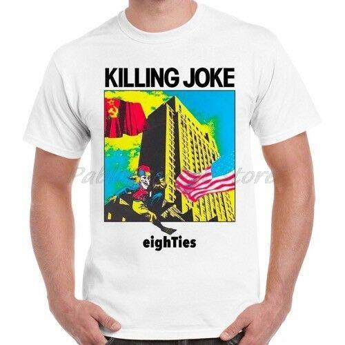 Killing Joke Eighties punk rock rétro T hommes shirt T-shirt de coton marque été tshirt baisse plus grande taille expédition