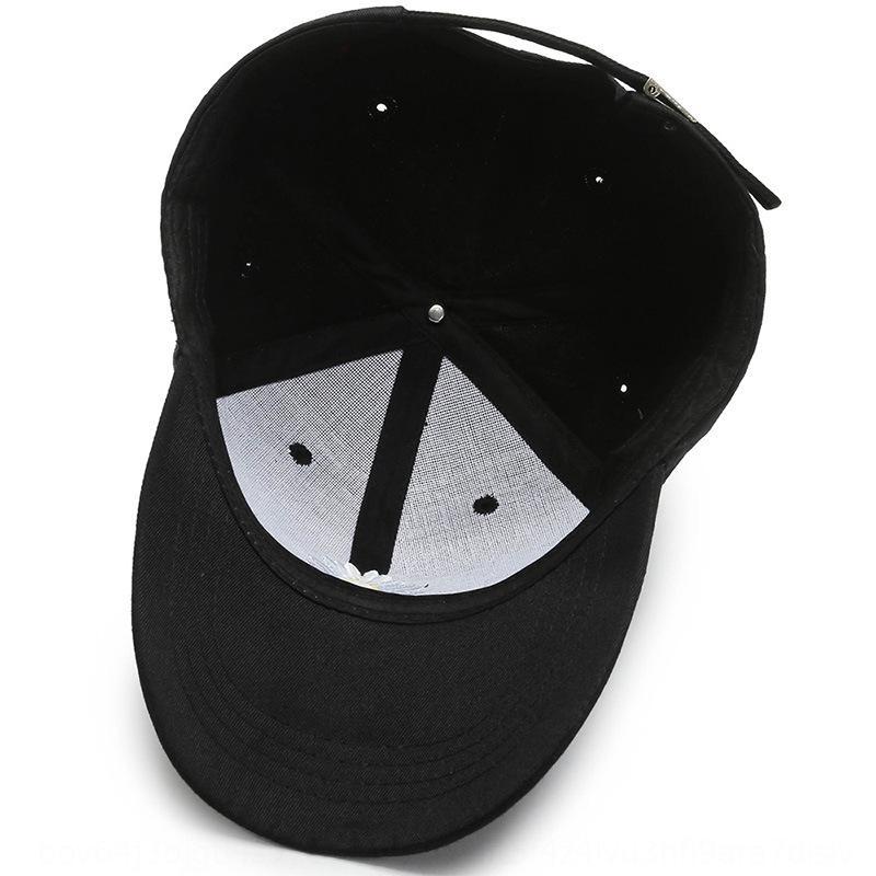 La protezione solare di baseball del tutto-fiammifero cap protezione solare degli uomini il cappello di ins coreano GD Quan Zhilong stesso stile berretto da baseball Daisy Donne