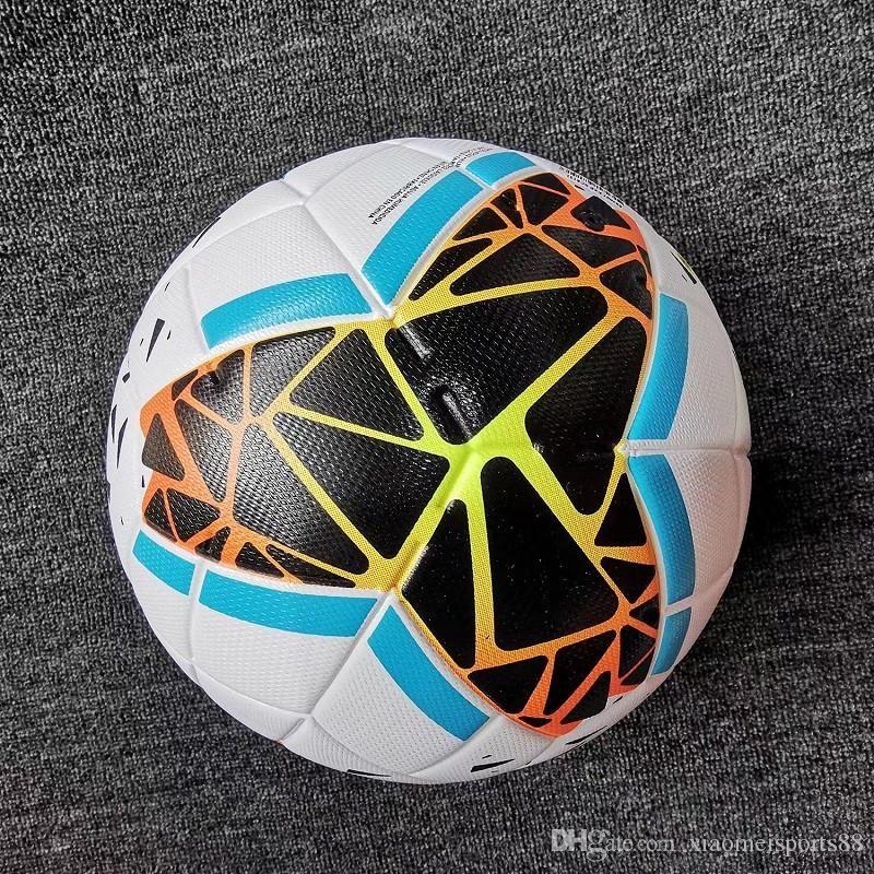 Yeni 19 20 En iyi kalite Kulübü Serie A futbol topu 2019 2020 boyut 5 topları granülleri kaymaz futbol Ücretsiz yüksek kaliteli topu nakliye