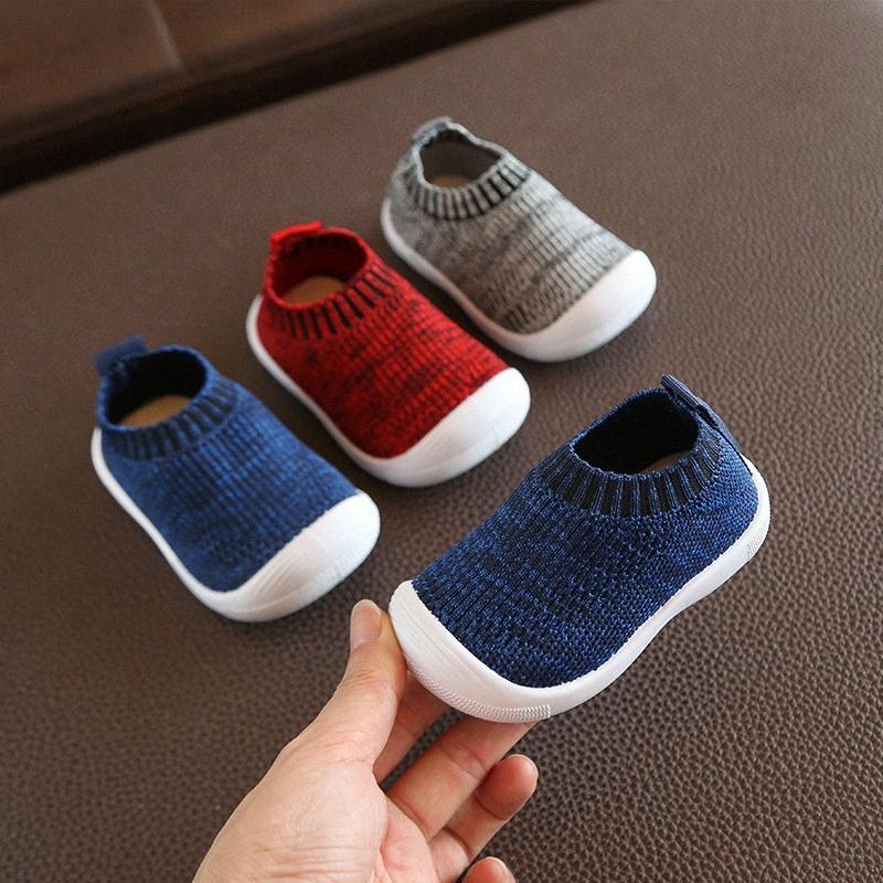 2020 2020 Moda Bebek Bebek Ayakkabı Boys And Girls Spor Ayakkabıları İlk Yürüyüşü Yenidoğan Yumuşak Prewalker 1 Yaşındaki Sneakers CGIL #