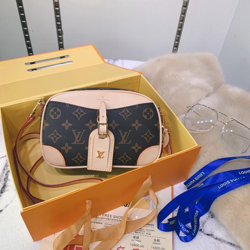 Vintage Klasik Kadınlar Çanta ile Menşei Kutusu Deri Omuz Çanta Yeni Geliş Lady Crossbody Çanta Bayan Tasarımcı Lüks Messenger Çanta