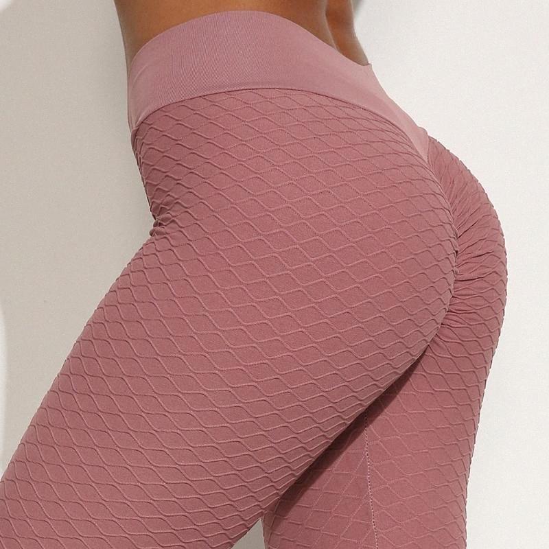 Ginásio Leggings Esporte Mulheres da aptidão Yoga Pants Empurre calças para cima para a aptidão Esporte Leggings Esportes B2he #