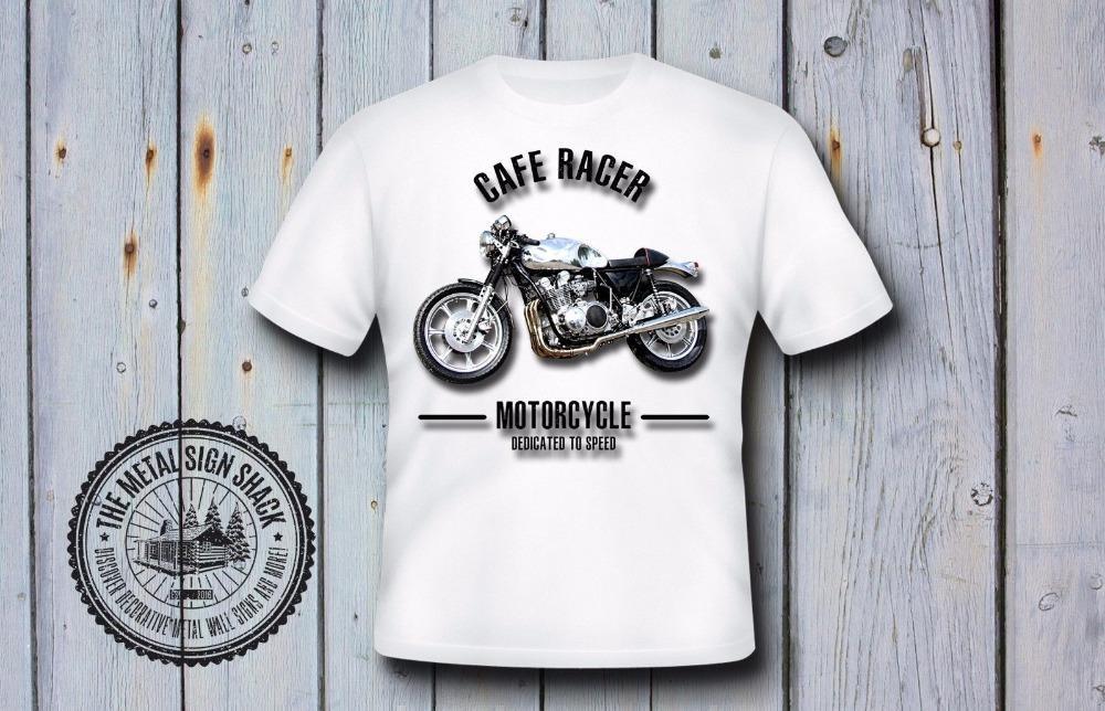 Marka Tişört Erkekler 2020 Moda Cafe Racer Tişörtlü Motosiklet, Motorard, Retro Classic Motosiklet
