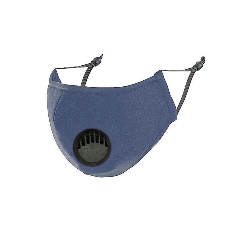 Atmung Put Maske Stoff Baumwolle Gesichtsabdeckungventil Mund Unisex Anti-Dust Wiederverwendbare Gesichtsmaske Masken Filter PM2.5 Inside Mask Can GGA3573- TMAI
