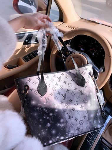 2pcs alta qulity clásicos para mujer diseñador de los bolsos de las señoras de flores compuestas de hombro del totalizador de la PU de cuero embrague bolsas monedero femenino NB547