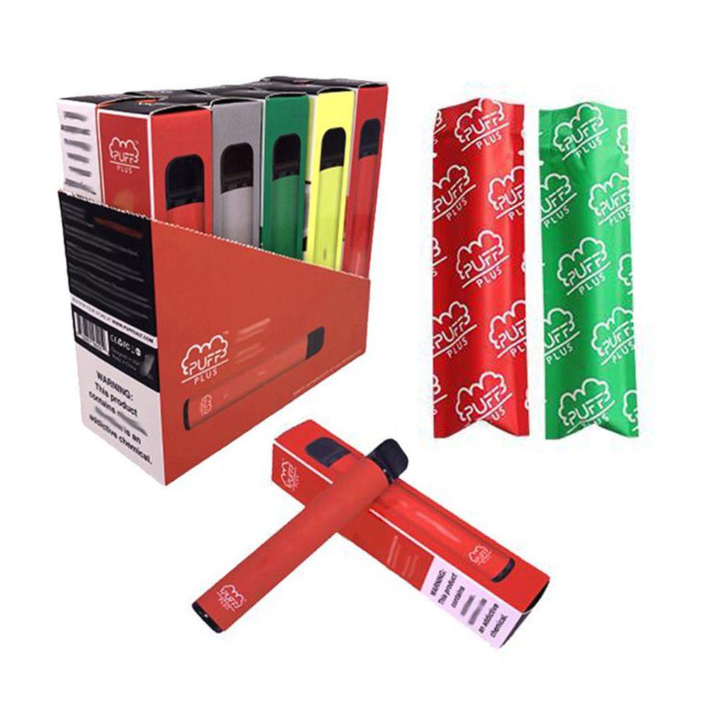 Kalite E Sigaralar Puf Artı Tek Kullanımlık Pod Kartuşu 550 mAh Pil 3.2 ml Vape Pods Taşınabilir Puffbar Buharlaştırıcı Kalem